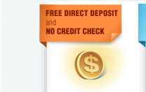 Prepaid card with free direct deposit